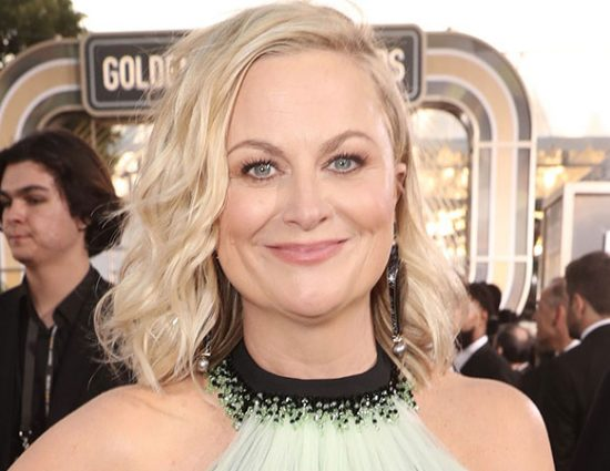 Amy Poehler attends the 76th Annual Golden Globe Awards