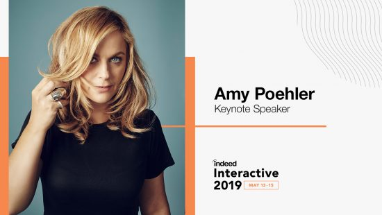 Amy Poehler to Speak at Indeed Interactive