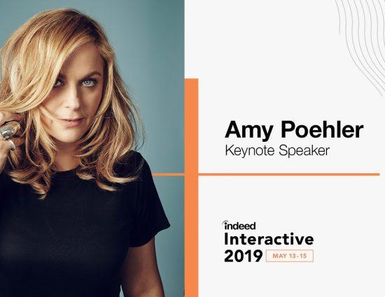 Amy Poehler to Speak at Indeed Interactive
