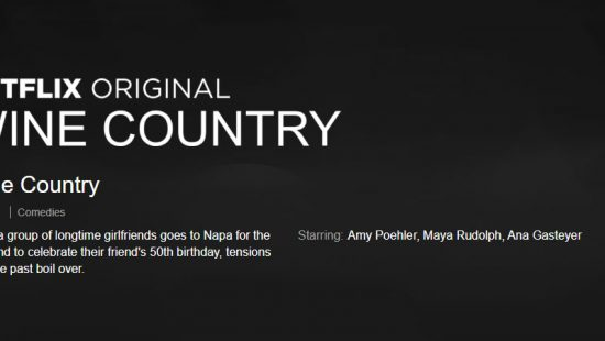 Rumor: 'Wine Country' Release Date