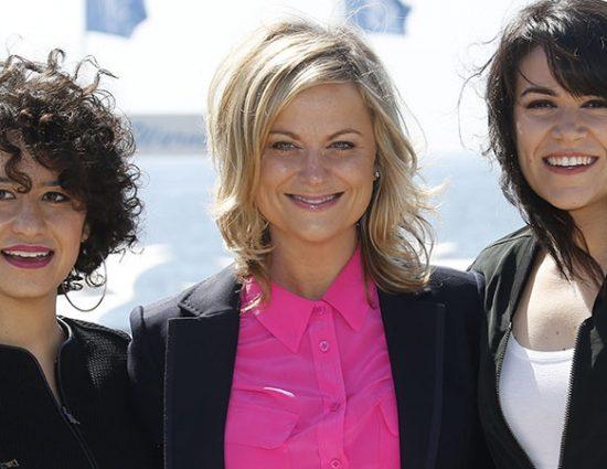 Abbi Jacobson, Ilana Glazer and Amy Poehler Talk 'Broad City' with Newsweek