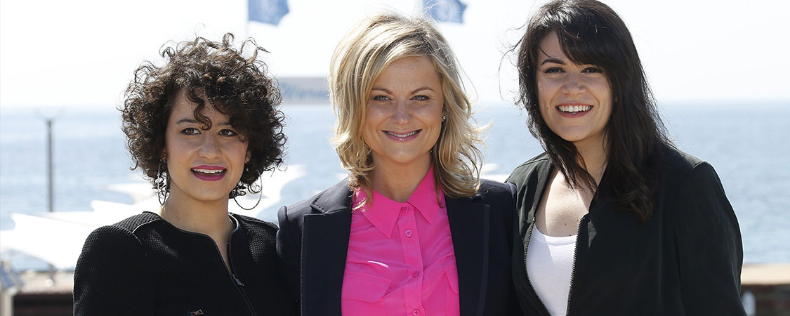 Abbi Jacobson, Ilana Glazer and Amy Poehler Talk 'Broad City' with Newsweek