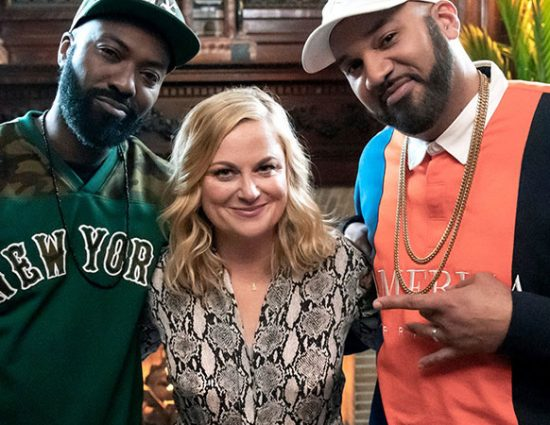 Amy Poehler appears on Desus & Mero
