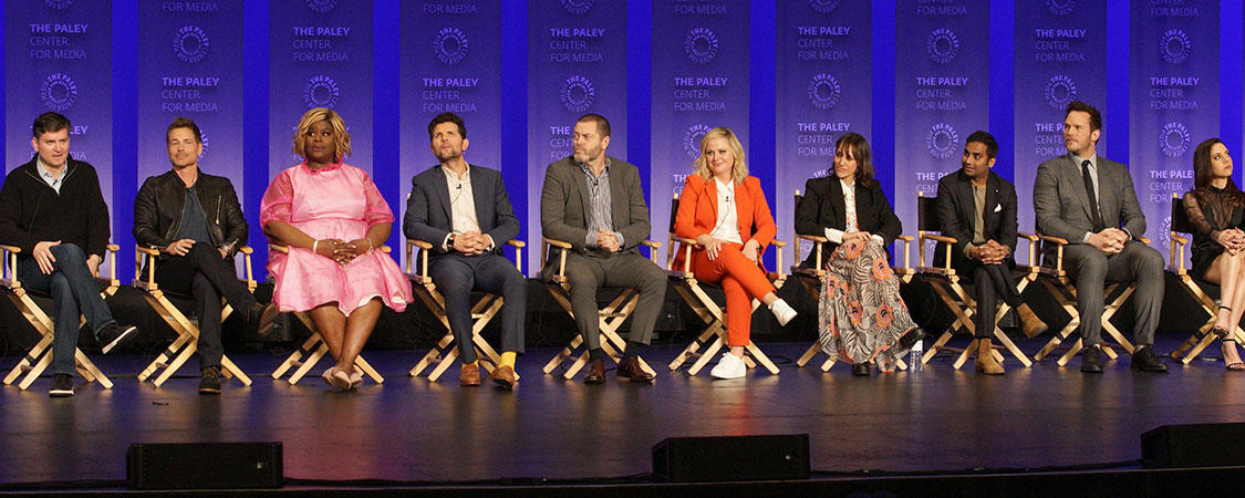 Amy Poehler, Nick Offerman and Mike Schur talk making 'Parks and Recreation' with The Guardian