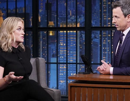 Amy Poehler on the Late Night With Seth Meyers Podcast