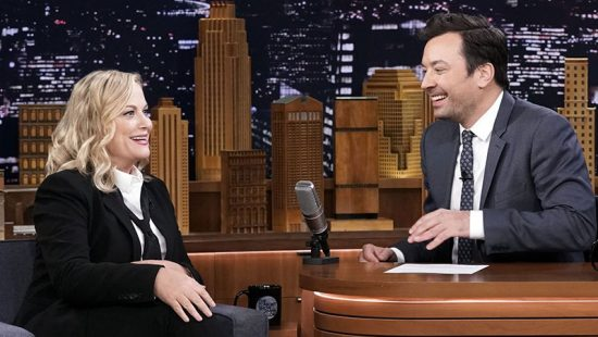 Amy Poehler interviewed on The Tonight Show Starring Jimmy Fallon