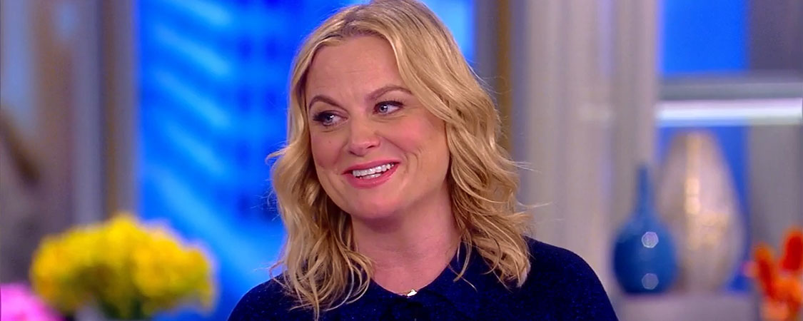 Amy Poehler interviewed on The View