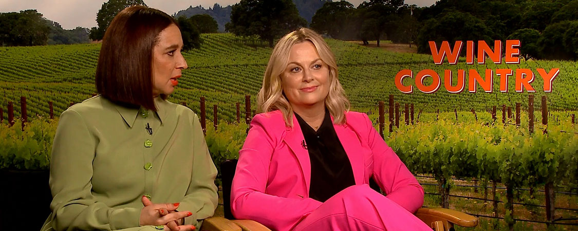 'Wine Country' Press Junket with Maya Rudolph and Amy Poehler