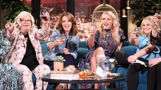 The 'Wine Country' Cast appear on Busy Tonight