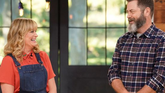 The Hollywood Reporter Interview: Amy Poehler and Nick Offerman on Hosting 'Making It'