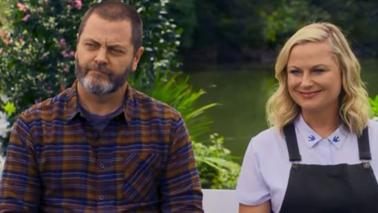 "New ""Making It"" Interview with Nick Offerman and Amy Poehler"