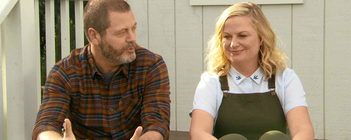 "(Videos) Amy Poehler and Nick Offerman Talk ""Making It"" with E! News"