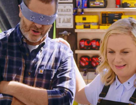 (Video) Amy Poehler and Nick Offerman: Name That Noise
