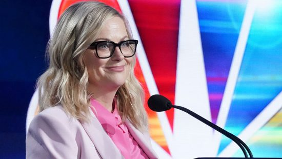 Amy Poehler attends the NBCUniversal Press Tour