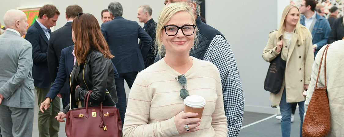 Amy Poehler attends the Frieze Los Angeles VIP Preview