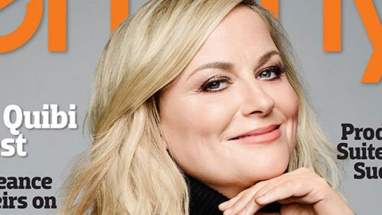 Amy Poehler Covers the February Issue of Emmy Magazine