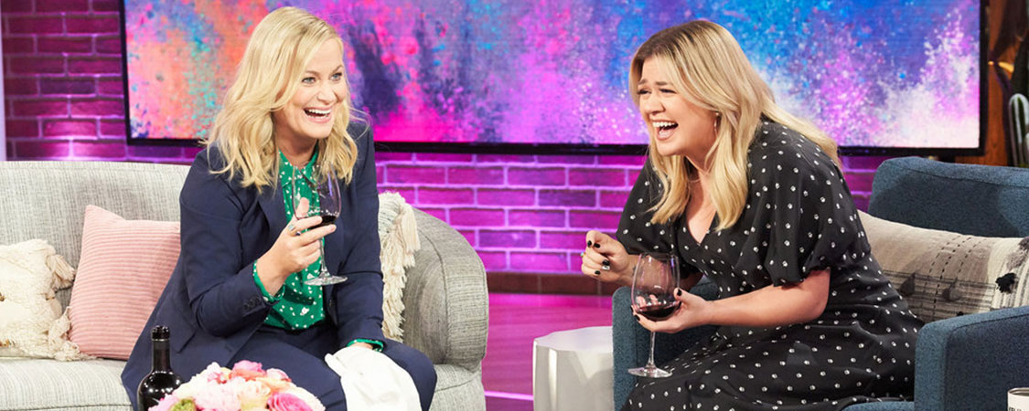 Amy Poehler Visits The Kelly Clarkson Show