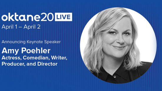 Amy Poehler to Speak at #Oktane20 Live Conference