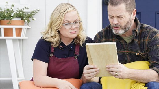 Amy Poehler and Nick Offerman Nominated for an Emmy Award