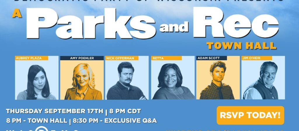 'Parks And Recreation' Stars To Reunite For Wisconsin Democratic Party Fundraiser