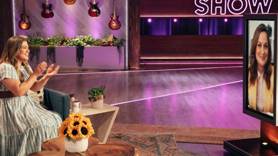 Amy Poehler talks Season 3 of 'Making It' on The Kelly Clarkson Show