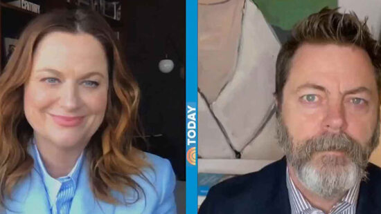 Amy Poehler and Nick Offerman talk Season 3 of 'Making It' on The Today Show